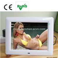 cheap price! 8 inch digital photo frame with full function with good resolution