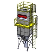 compact baghouse dust collector