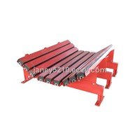 conveyor belt impact bed for mining industry