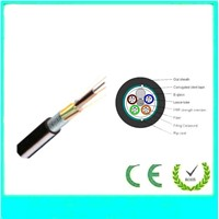 double jacket and double armored fiber cable gyta53