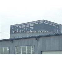 easy assembled high-quality light steel structure building/workshop/warehouse