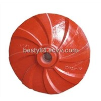 erosion resistant slurry pump impeller