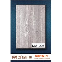 fashion style wood grain board for kitchen cabinet