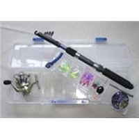 fishing combo, fishing set, fishing tackle, bait combo, lure set, pen rod set, fishing tackle box