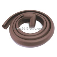 free sample baby care high density eco-friendly protective table edge guard brown