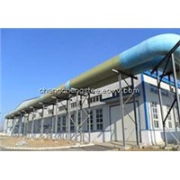 good steel structure building material workshop for Sewage treatment