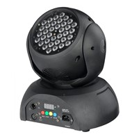 high-powered 36* 1/3W  RGB   beam led rainbow effect moving head light