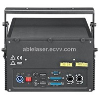 High Quality AB-VI-B 5W RGB Laser Projector/System 638nm Bright Red/0.7mrad Divergence