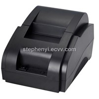 hot selling 58mm pos receipt printer with power supply built-in cheap price