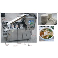 hot selling wonton wrapper making Machine, dwonton skin making machine, dumpling skin making machine