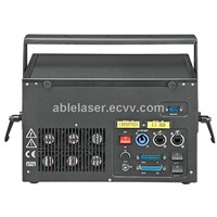 Low Power Full Color 2.5w RGB Laser Stage Lighting System for Project Event