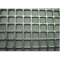 perforated square hole metal mesh