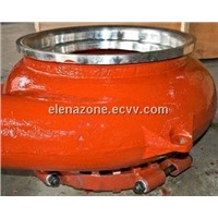 slurry pump parts for mineral application