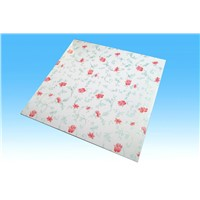 square pvc ceiling panel with T-grid