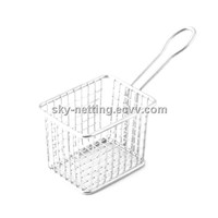 Stainless Steel 304 / 201 Frying Basket