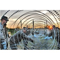 stainless steel flexible razor wire mesh