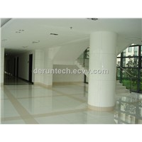 super white polished nano crystallized glass stone panel