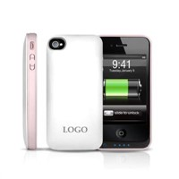 trendy fashion slim QYG phone power case for iPhone4s