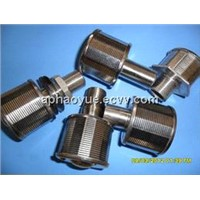 water & gas strainer pipe/screen nozzle/changeable filter element