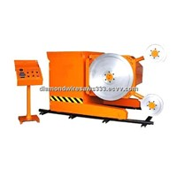 diamond cutting wire machine