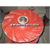 pump parts anti-corossion impeller