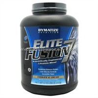 Dymatize Nutrition Elite Fusion 7 Protein Blend Dietary Powder.