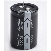 Suntan Aluminum Electrolytic Capacitors - Snap-in type CD296