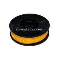 ABS 3D printing filament--Yellow