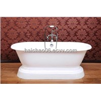 Double ended pedestal tub