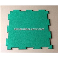 EPDM/SBR Interlocking rubber tiles