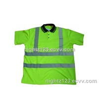 High Visibility Polo Shirt  Safety Wear (HGT001)