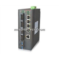 MIE-5610 2G+8-Port-Fx+4-Port-Tx+RS485(CAN)