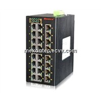 MIE-5628FX4-GX4 20Port+4G self-healing Gigabit Industrial Ethernet Switch