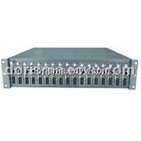 Managed Ethernet Media Converter Chassis