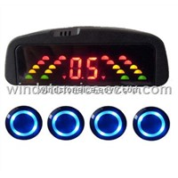 Rainbow LED Display Car Alarm System