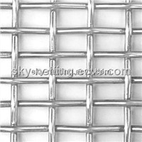 Stainless Steel Crimped Screen Mesh Used as Filter Parts