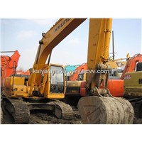 Used Crawler Excavator Hyundai R215-7 Low Hours