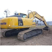 Used Crawler Excaator Komatsu PC270/ Original Japan Excavator