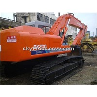 Used Hitachi EX200-3 Excavator ready to work