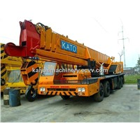 Used KATO 50T Truck Crane In Good Condition