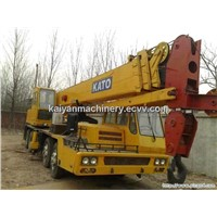 Used KATO Truck Crane NK350E/ Japan Kato 35t Ready for Work