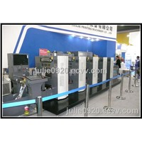 WJPS-350D Shaftless Offset Intermittent Rotary Label Printing Machine