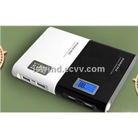 12000mAh high capacity Li-ion battery use mobile charger power bank