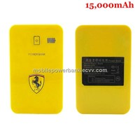 15000mAh Double USB Extra Power Bank for iPad iPhone Cell Phone