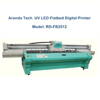 1.2mx2.5m UV flatbed digital printer with LED light