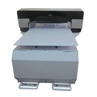 2014High resolution digtial textile printer with T-shirt plate
