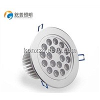 2014 Latest 18w led silver ceiling light with high quality chip