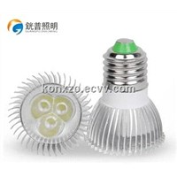 2014 Latest 3W LED GU10 Aluminum Lamp Cup Spotlight