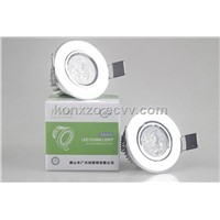 2014 Latest 3w led ceiling light with imported materal