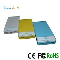 2014 for iPhone and iPad External Battery Pack Portable Charger 12000mah PS068